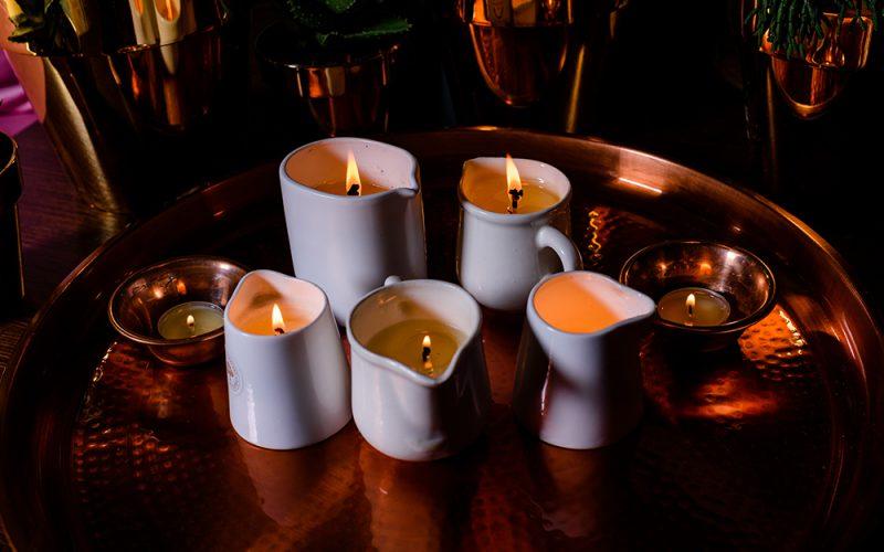 Masaż świecą